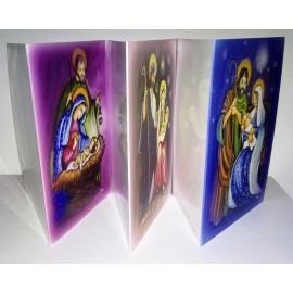 9 cartes de Noël (3x3)