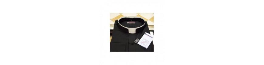 Chemises pour le clergé : prêtres, diacres, séminaristes