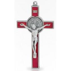 Croix St Benoit - bois d'olivier - cm