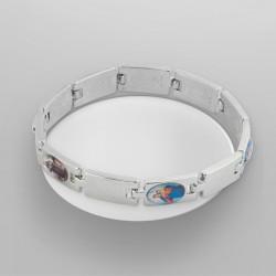 """Bracelet """"5 images saintes"""""""