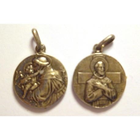 Saint Antoine et Saint François (métal)