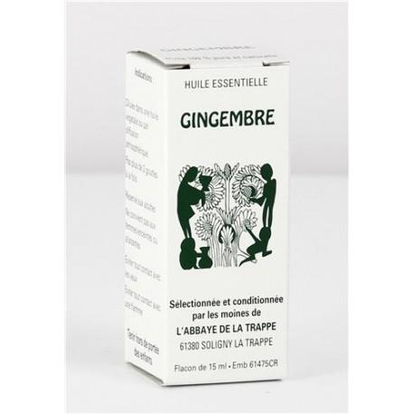 Huile essentielle Gingembre, flacon de 15 ml
