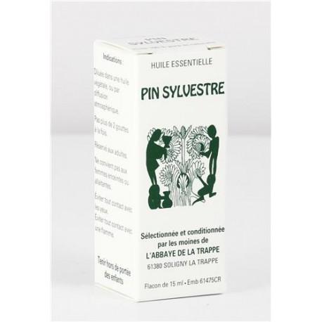 Huile essentielle Pin Sylvestre, flacon de 15 ml
