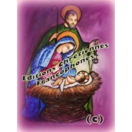 Assortiment 3 cartes de Noël